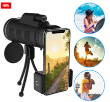 Phone Camera Lens Zoom With Tripod